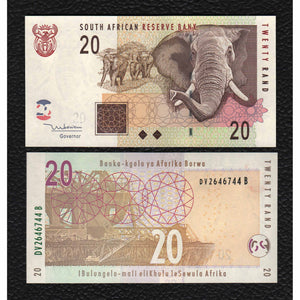 South Africa P-129 2005 20 Rand - Crisp Uncirculated