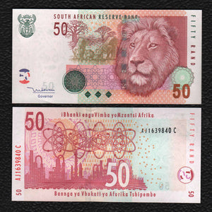 South Africa P-130 2005  50 Rand - Crisp Uncirculated