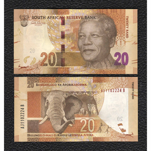 South Africa P-134  ND(2012)  20 Rand - Crisp Uncirculated
