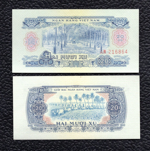 Viet Nam, South  P-38a 1966(1975)  20 XU - Almost Uncirculated/Uncirculated
