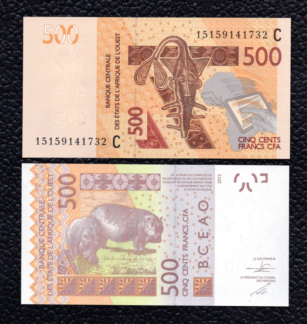 West African States(Burkina Faso) P-314c  2015  52000 Francs