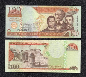 Dominican Republic P-184b 2011 100 Pesos - Crisp Uncirculated
