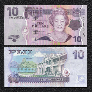 Fiji P-111a ND(2007) 10 Dollars - Crisp Uncirculated