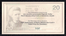 Load image into Gallery viewer, Poland P-182b 2011 20 Zlotych - Crisp Uncirculated in Commemorative Folder