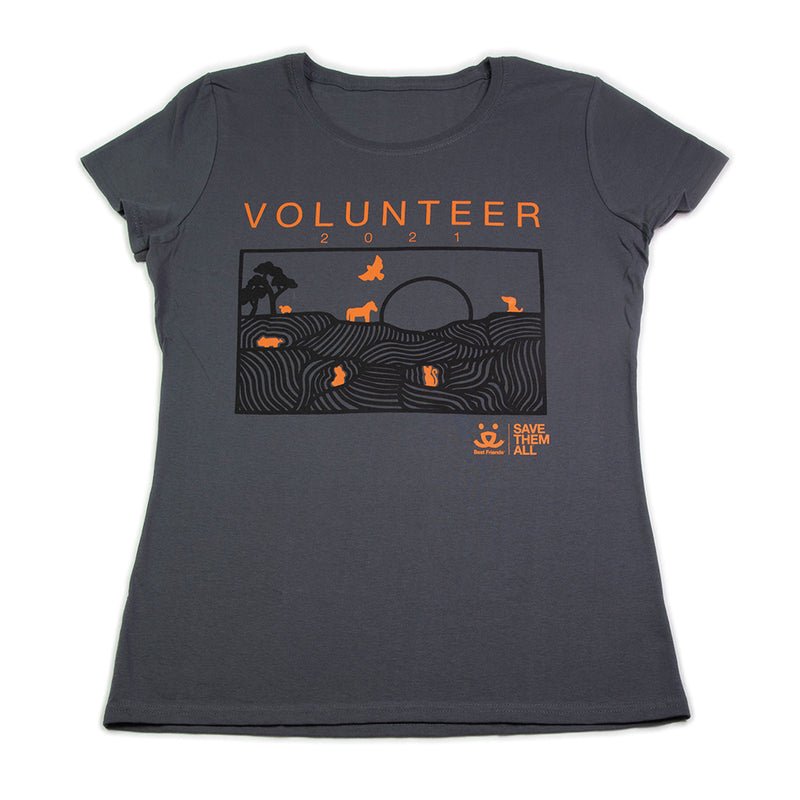 2021 Volunteer T shirt, Women's