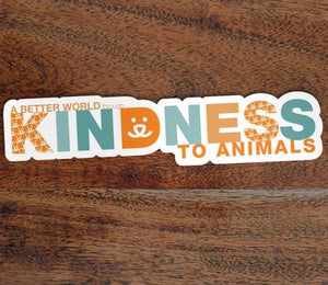 Kindness, Vision Sticker