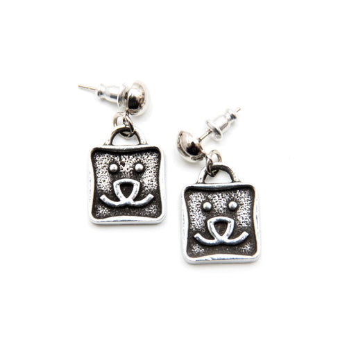 Best Friends Logo Earrings