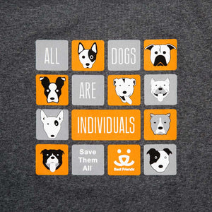 All Dogs T-shirt, Unisex