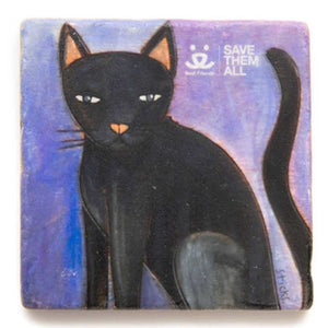 Marble Coaster, Black Cat