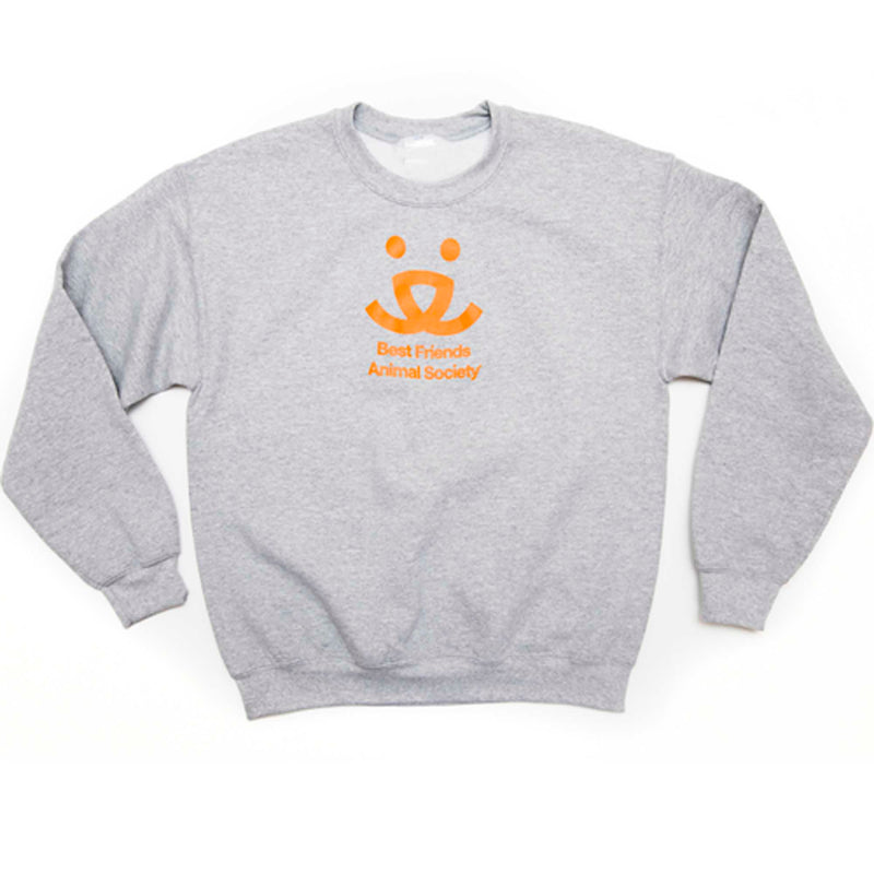 Crewneck Sweatshirt, Light Gray