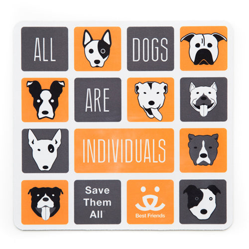 Mouse Pad, All Dogs