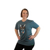 Wild Tribute Cat Design T Shirt, Adult