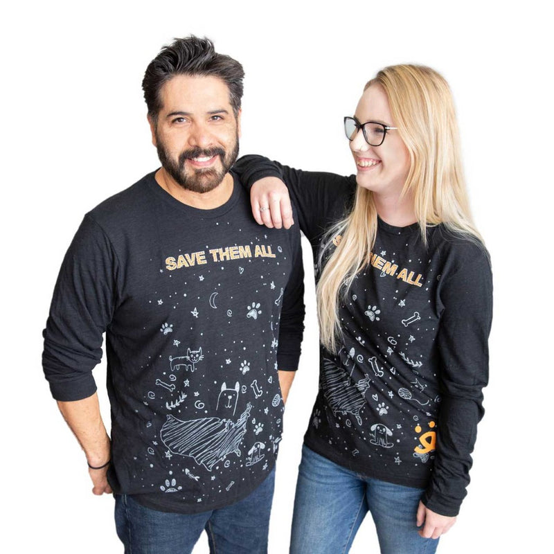 Moon Shot L/S Unisex T-shirt