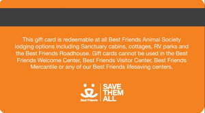 Lodging Gift Card