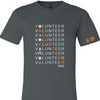 T-Shirt, Tee, Volunteer Adult
