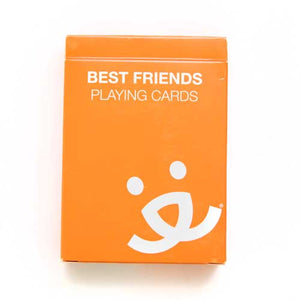 Best Friends Playing Cards