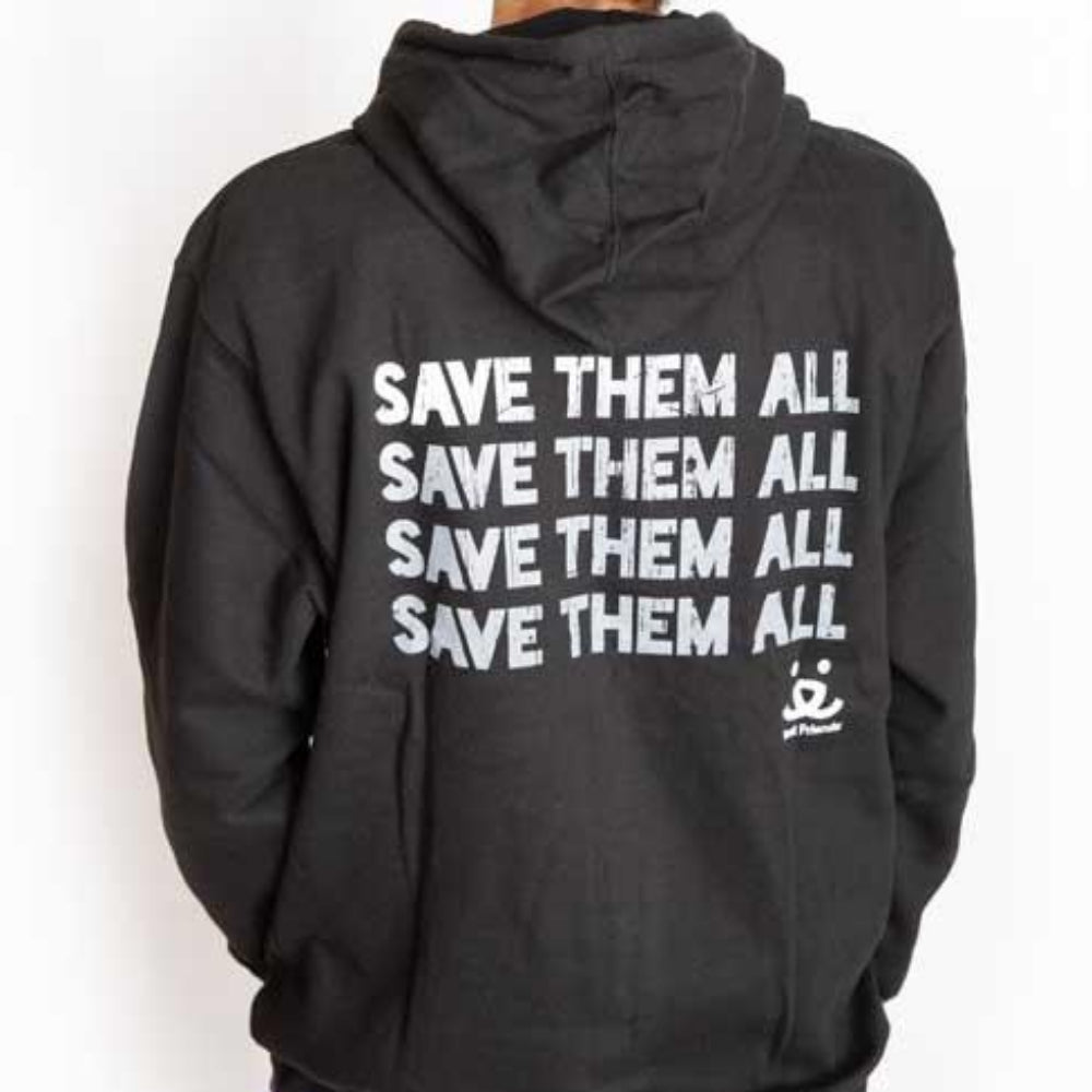 Save Them All Fade Hoodie