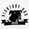 Vicktory Dog T-shirt Cherry, Unisex