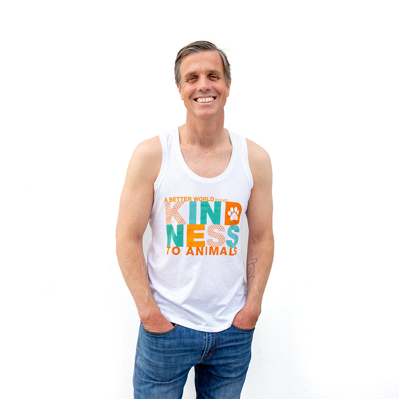 Kindness, Vision Tank Top, Adult