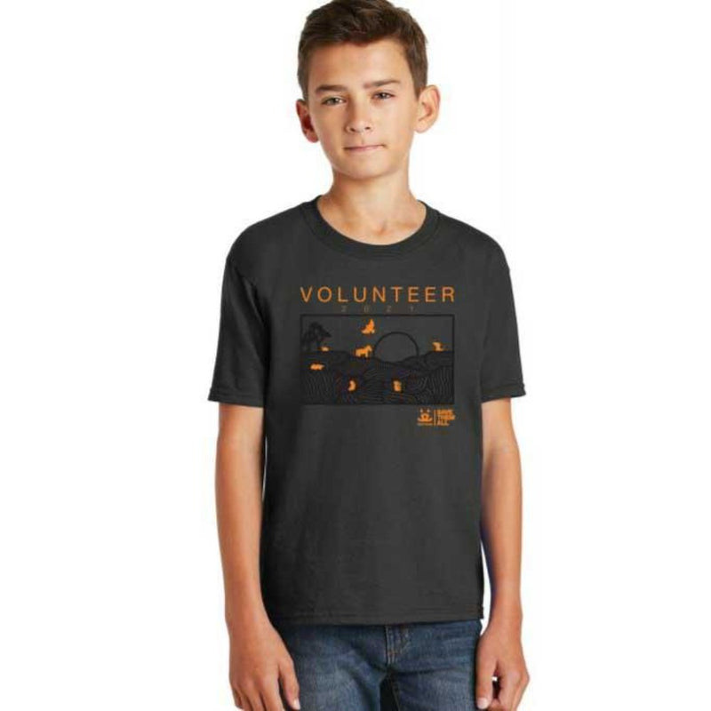 2021 Volunteer T shirt, Youth