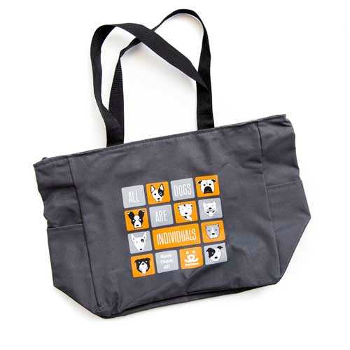 All Dogs Are Individuals Tote