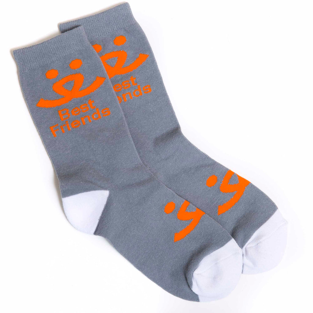 Crew Socks - Gray
