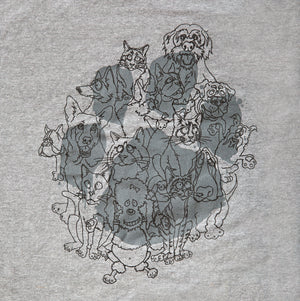 1984 Gangs All Here, Paw Baseball T-shirt