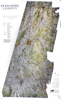 Berkshire County Wall Map