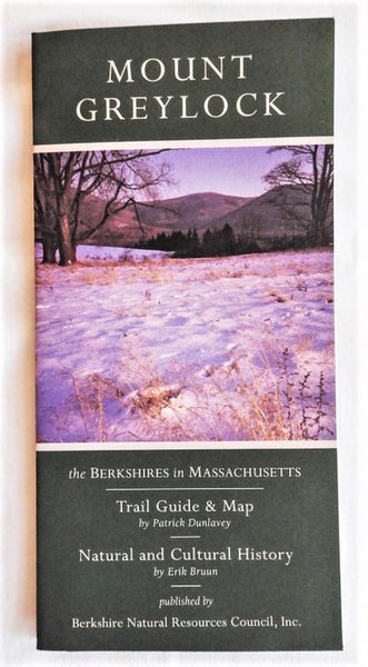 Mt. Greylock Regional Trail Map and Interpretive Guide