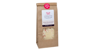 White Chocolate Bark with Peppermint (4 oz.)