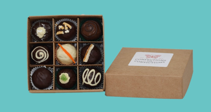 'Drinks Date' Chocolate Truffle Collection