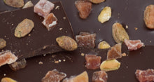 Load image into Gallery viewer, Dark Chocolate Bark with Pistachios & Papaya