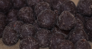 Hazelnut Bites with Dark Chocolate & Sea Salt