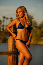 Load image into Gallery viewer, NAAVA Blue Sequin Bikini