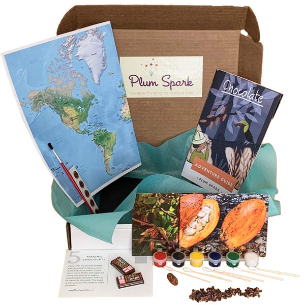 chocolate science subscription box for kids