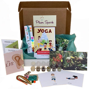 yoga science subscription box for kids
