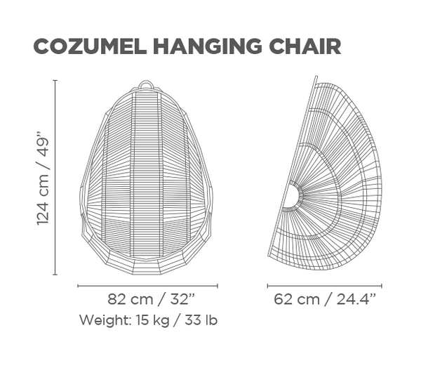 Cozumel Hanging Chair