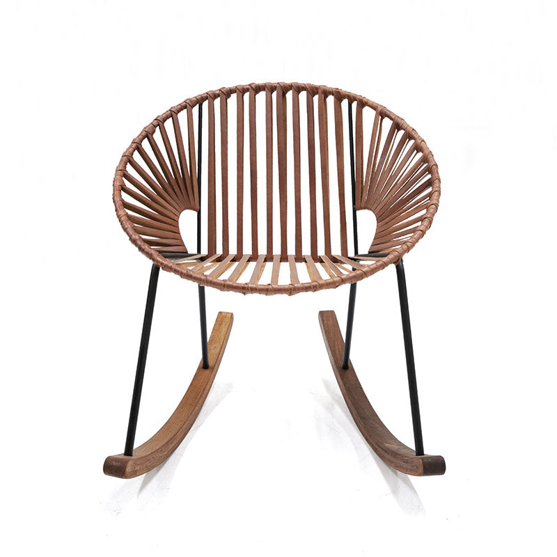 Peachy Ixtapa Rocking Chair Leather Pdpeps Interior Chair Design Pdpepsorg