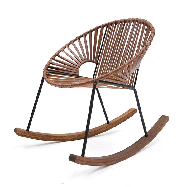 Ixtapa Rocking Chair Leather