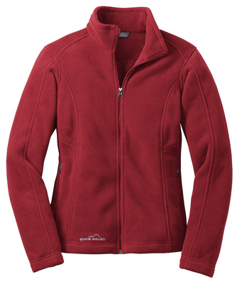 Ladies Eddie Bauer Full-Zip Fleece Jacket