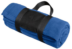 Luxury Fleece Blanket with Carrying Strap