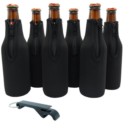 Custom Bottle Koozies - Set of 12