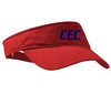 Adjustable Fashion Visor - Custom Embroidered