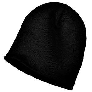 Knit Beanie Cap - Custom Embroidered