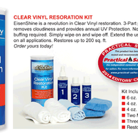 Eisen Shine - Clear Vinyl Restoration Kit