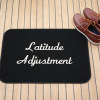 "Personalized Boat Mat - SMALL 12""x17"""