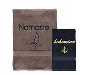 Custom Embroidered Luxury Towels
