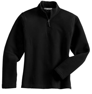 Ladies 1/4 Zip Microfleece