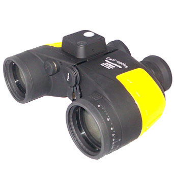 Floating Binoculars with Internal Compass