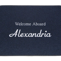 "Personalized Boat Mat - MEDIUM 17""x24"""